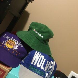 Other - Vintage Heineken Bucket Hat